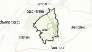 מפה / Bad Wimsbach-Neydharting