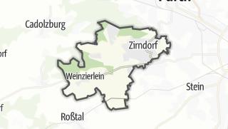 Mapa / Zirndorf