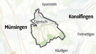 Hartă / Tägertschi