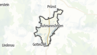 Cartina / Ruhmannsfelden