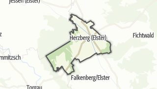 Hartă / Herzberg/Elster