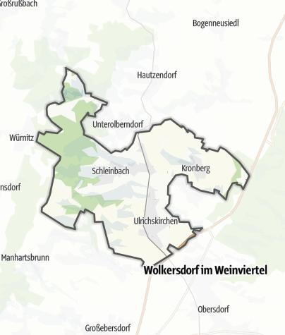 Karte / Ulrichskirchen-Schleinbach