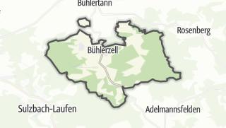 地图 / Bühlerzell