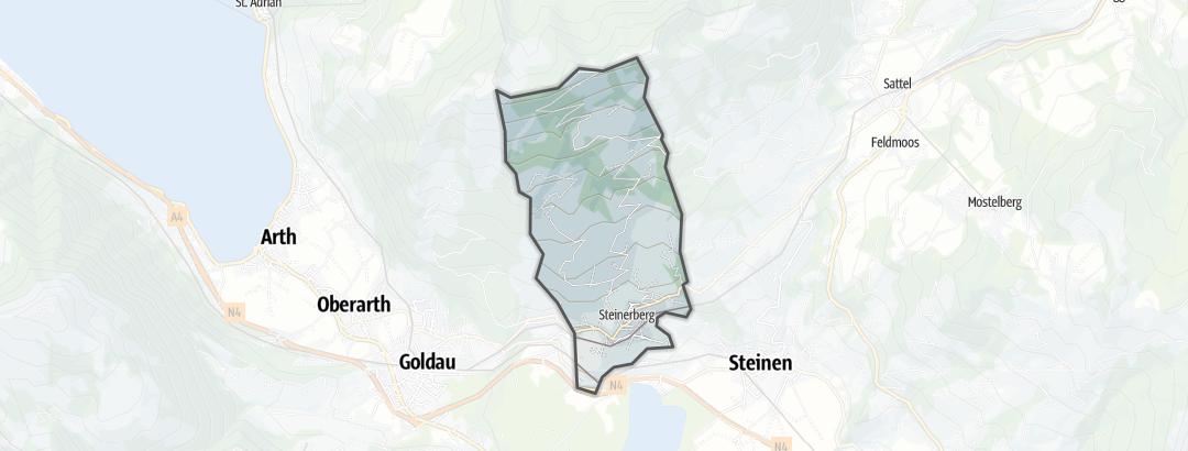 Mapa / Rutas en bicicleta en Steinerberg
