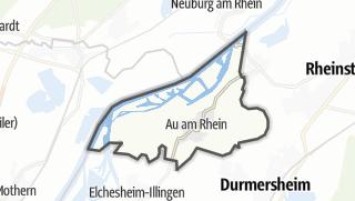 Karte / Au am Rhein