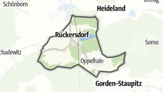 Hartă / Rückersdorf
