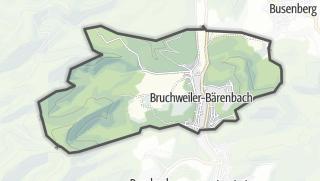Karte / Bruchweiler-Bärenbach