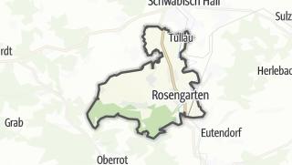 מפה / Rosengarten
