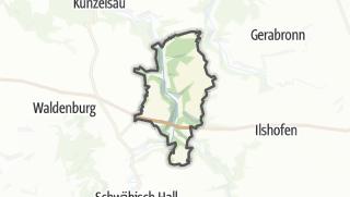 מפה / Braunsbach