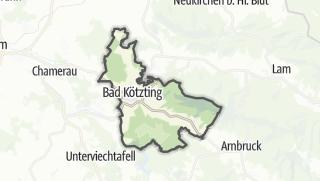 מפה / Bad Kötzting
