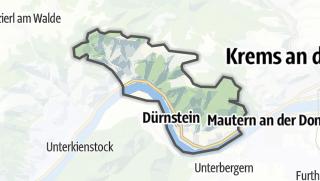 מפה / Dürnstein