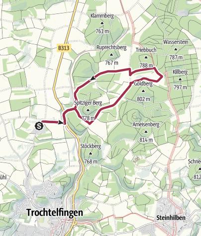 Karte / Froschteich