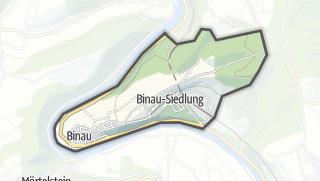 Cartina / Binau