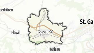 地图 / Gossau (SG)