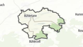 地图 / Bühlertann