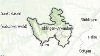 Mapa / Ühlingen-Birkendorf