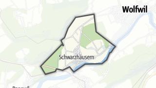 מפה / Schwarzhäusern