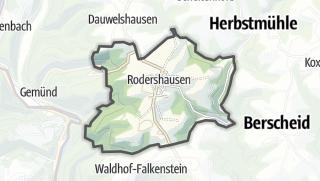 Karte / Rodershausen