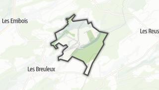 Mapa / La Chaux-des-Breuleux