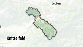 מפה / Sankt Stefan ob Leoben