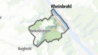 地图 / Brohl-Lützing
