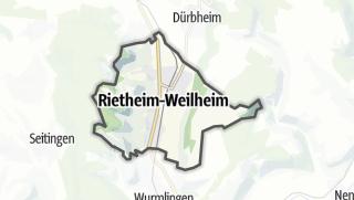 Mapa / Rietheim-Weilheim