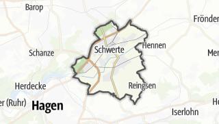 מפה / Schwerte
