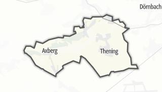 Mapa / Kirchberg-Thening