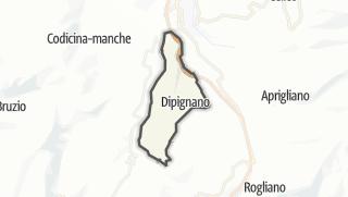 Mapa / Dipignano