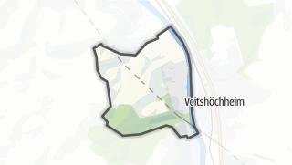 Cartina / Margetshöchheim