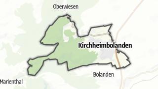 Cartina / Kirchheimbolanden