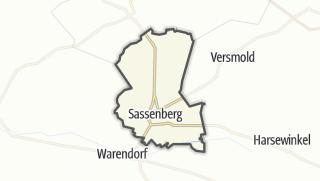 Mapa / Sassenberg