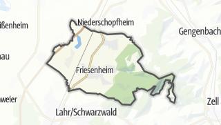 Karte / Friesenheim