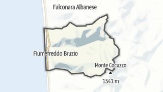 Térkép / Fiumefreddo Bruzio