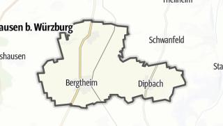 Mapa / Bergtheim