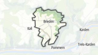 Karte / Brieden