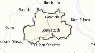 Cartina / Lommatzsch
