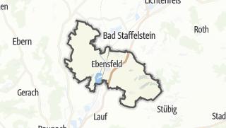 Cartina / Ebensfeld