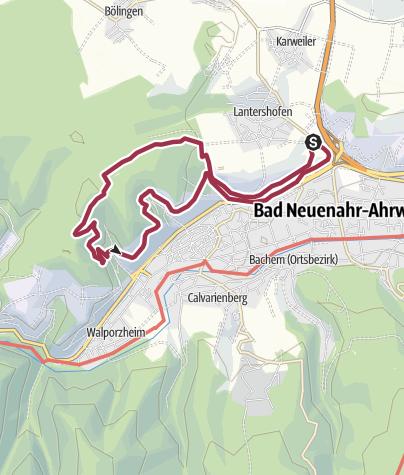 Karte / Lantershofen - Silberberg mit Hunden (GPS)