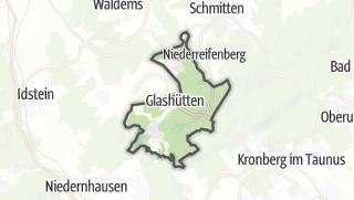 Mapa / Glashuetten