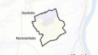 地图 / Lörzweiler
