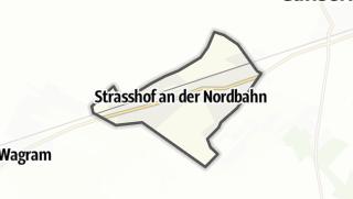 Cartina / Strasshof an der Nordbahn