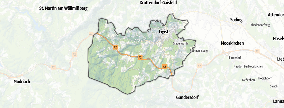 地图 / 在Ligist里的无障碍旅游