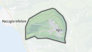 Mapa / Agra