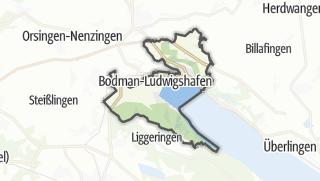 Mapa / Bodman-Ludwigshafen