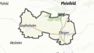 מפה / Ellingen