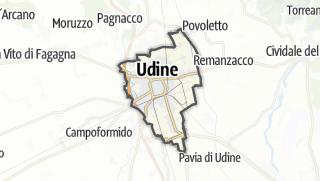 מפה / Udine