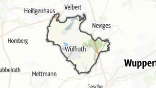 Mapa / Wülfrath