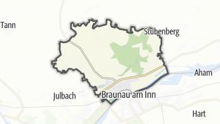 Mapa / Simbach am Inn