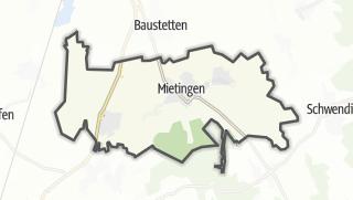 Karte / Mietingen